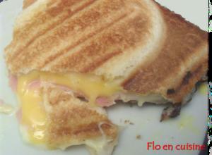 croque aux 3 fromages
