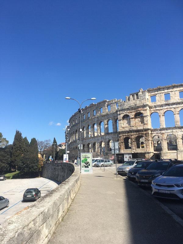Pula, l'amphithéâtre romain le mieux conservé, vendredi 19 mars 2021 (3)