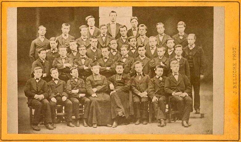 petit séminaire Montbrison vers 1874 (1)