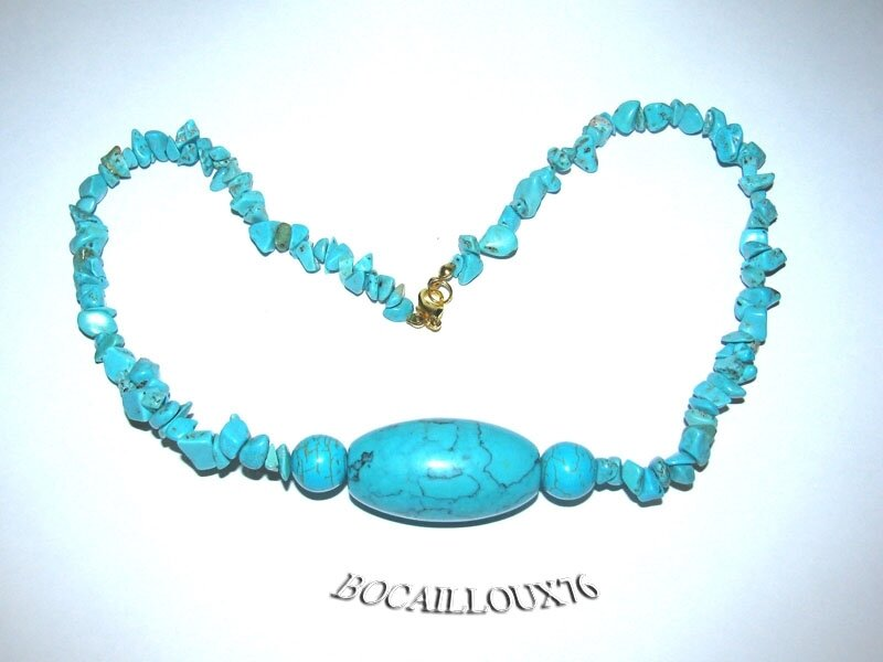 Collier HOWLITE Turquoise 2 (5)