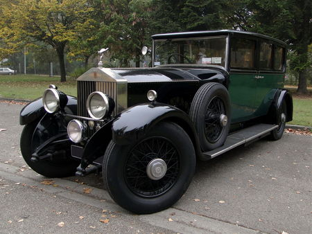 ROLLS ROYCE Phantom I Hooper 1929 Retrorencard 2