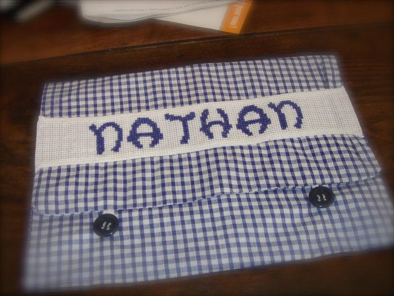 Pochette serviette Nathan