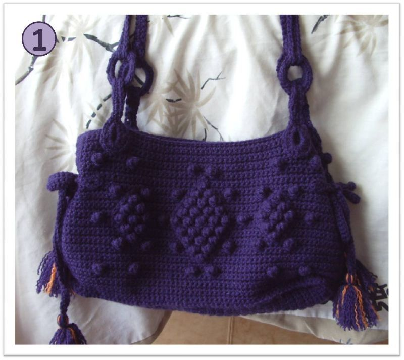sac crochet GD