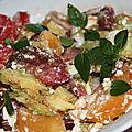 Salade rapide d'inspiration cretoise