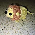 Tuto crochet/amigurumi - lion crocheté en une pièce, sans coutures - crochet débutant - facile 🦁