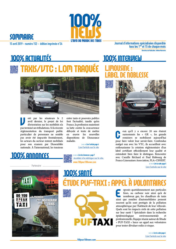 100% NEWS TAXIS n°152_ Page3