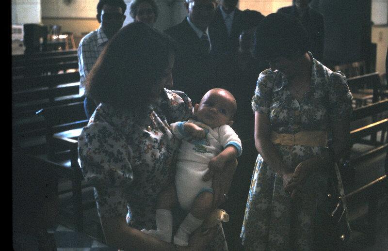 1974 Baptême de Jerome