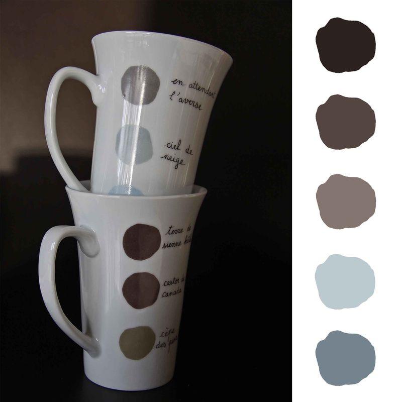 5 palette