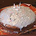 Gâteau au chocolat customisé