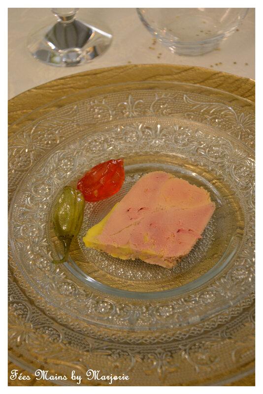 Foie gras et piments confits