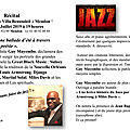 Guy mayembo déclame l'âme du jazz.