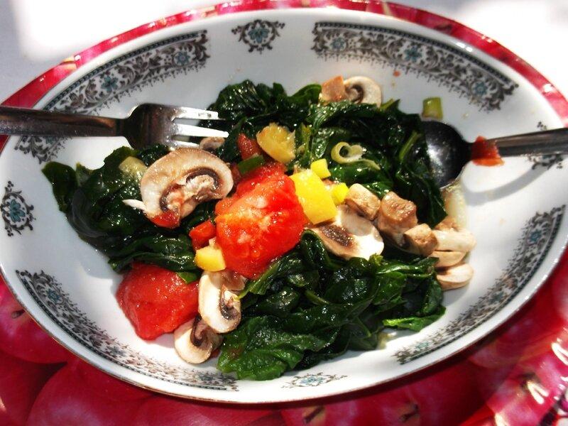 salade légumes cuits