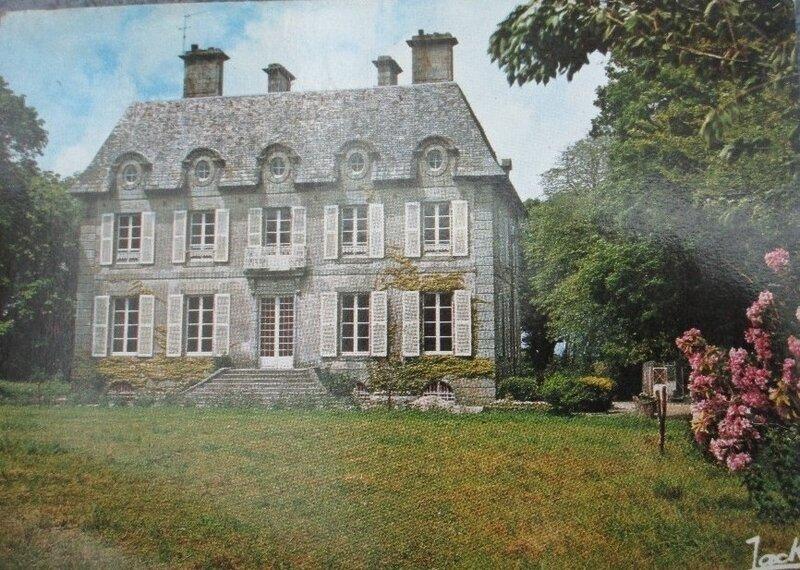 CPA château de Plouguin