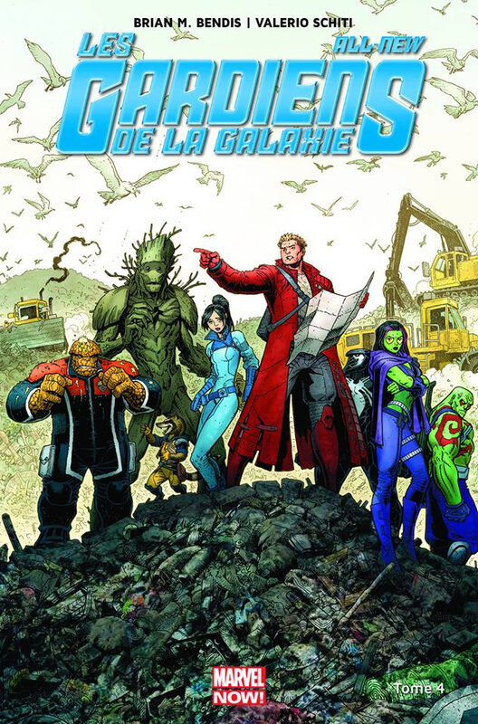 marvel now all new gardiens de la galaxie 04 cloués au sol