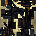 Christie's to offer an important rediscovery by soulages from 1950