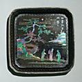 Plateau, chine, dynastie qing, époque kangxi (1662-1722)