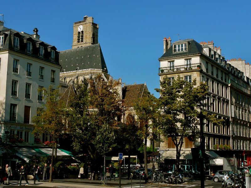 Atmosphère parisienne.