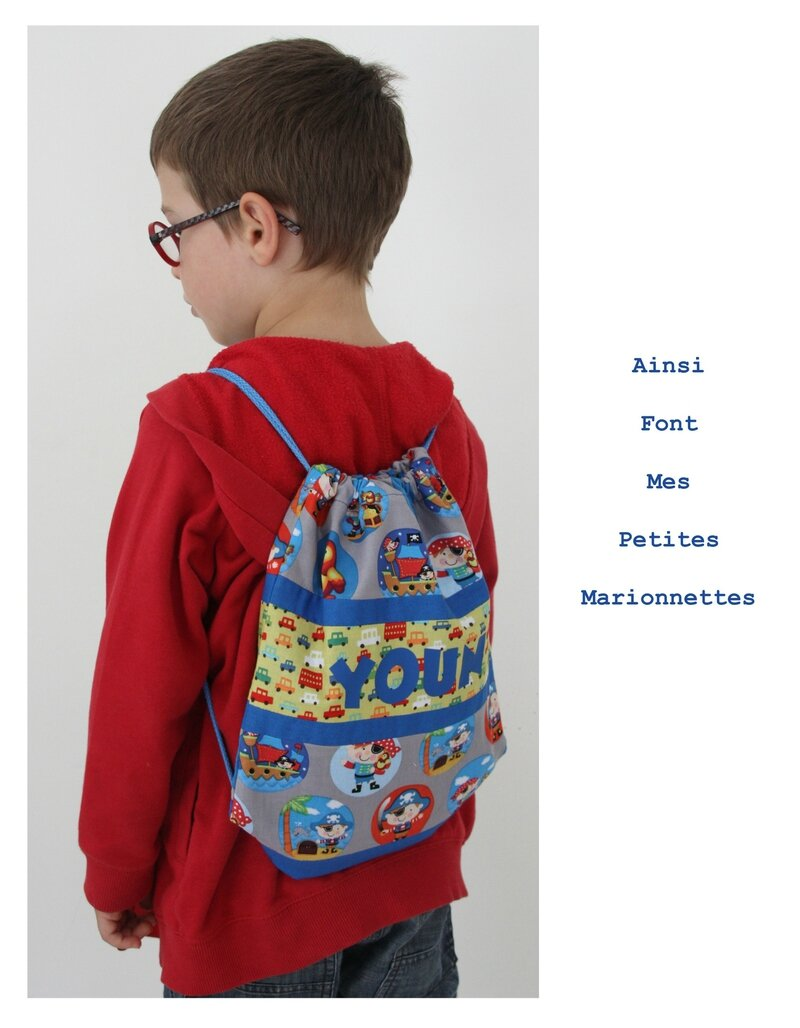 sac a dos coulisse pirate 2