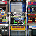 London shop fronts