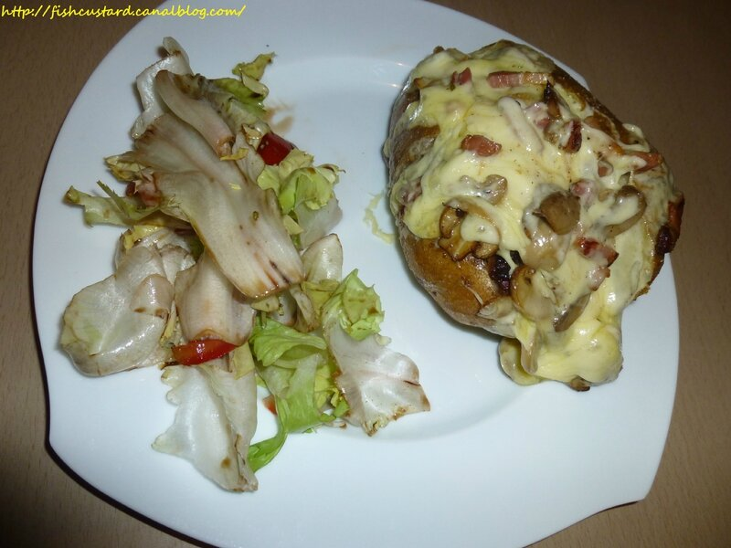 Jacket potatoes lardons-champignons-morbier (23)