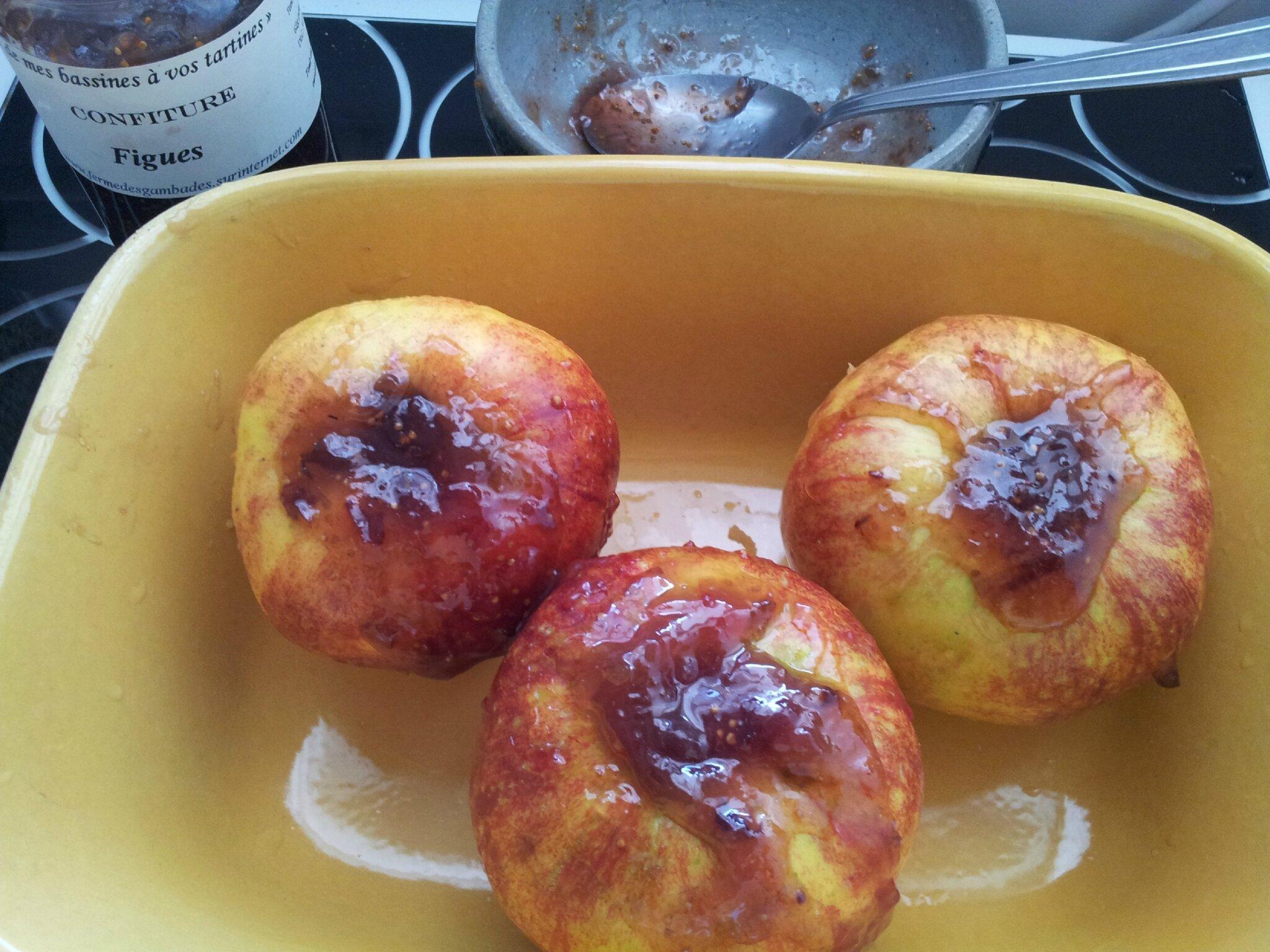 confiture de figues et pommes