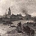 Médard, scène de bataille, sd