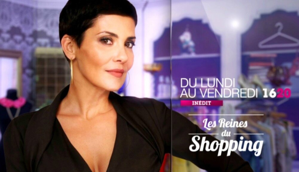 """TV show : The queen of shopping : """" Elegant shiny """""""