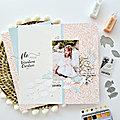 Coup de cœur papiers imprimés : la collection j'irai voir la mer de béatrice garni illustrations