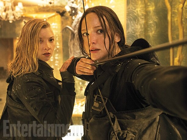 Mockingjay - Part 2 Natalie Dormer & Jennifer Lawrence