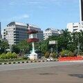 Rond-point à jakarta (indonésie)