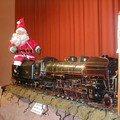 Exposition au marché de Noël