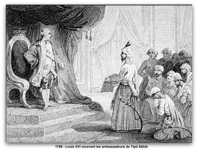 Louis XVI recevant les ambassadeurs de Tipû Sâhib en 1788 z