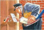t'as du courrier