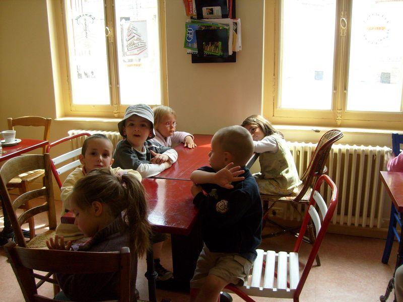 vendredi 5 juin : visite surprise de l'école moulin à vent