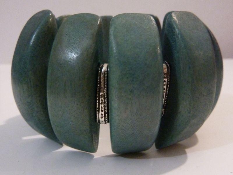 Bracelet bois extensible