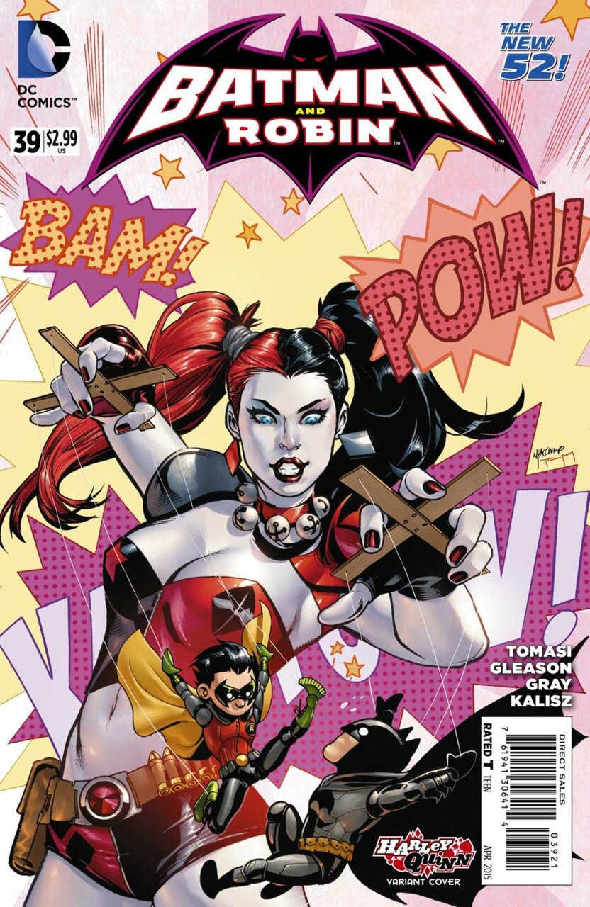 batman and robin 39 harley variant