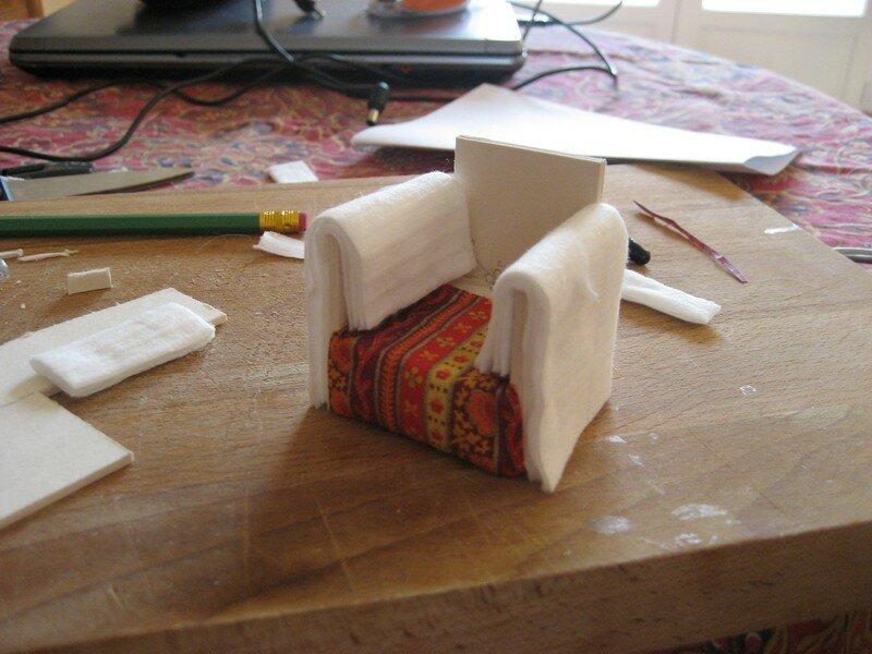 Construire un fauteuil miniature - La Maison de Bois