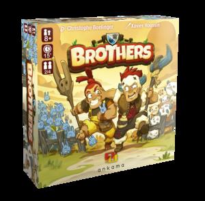 Boutique jeux de société - Pontivy - morbihan - ludis factory - Brothers