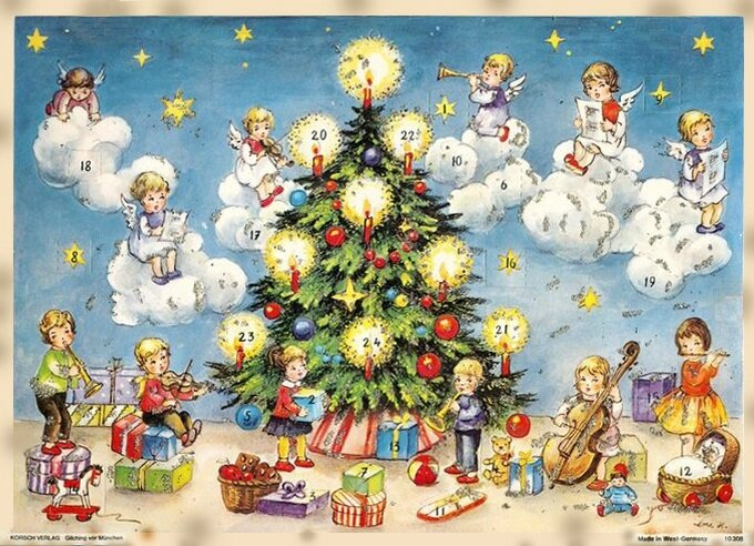 Adventskalender Enfants & anges