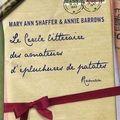 Mary ann shaffer & annie barrows - le cercle littéraire des amateurs d'épluchures de patates