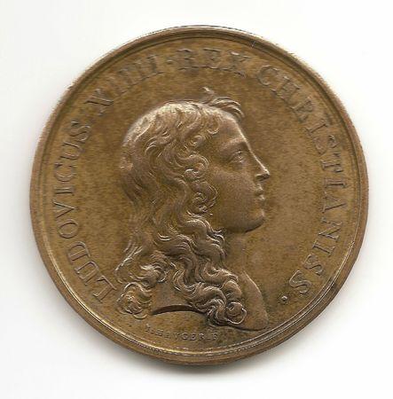 5 Médaille Avers 1654 frappée avant 1702