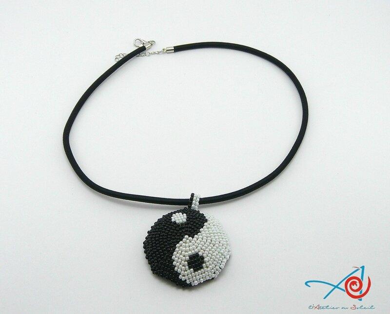 Pendentif Yin & Yang à plat (Copier)