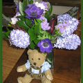 bouquet de bleu