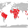 Countries without ski resorts