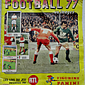 Album ... football panini fooball 77