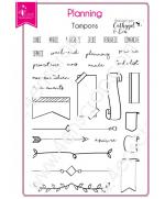 tampon-transparent-scrapbooking-carterie-agenda-planning