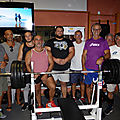Du lourd au m g c v avec romuald masse, champion d'europe de bench press.....