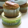 Muffins façon olivade