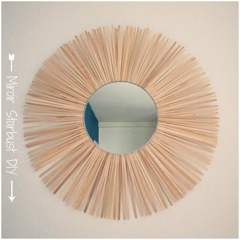 Miroir Soleil Cam&Drey bricolent