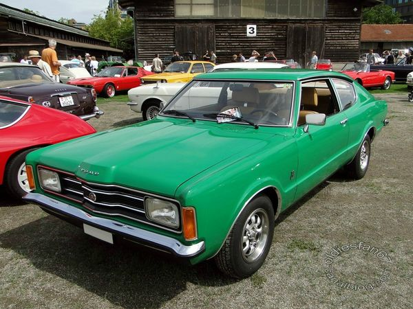 Ford Taunus XL serie TC coupe 1970 1976 1